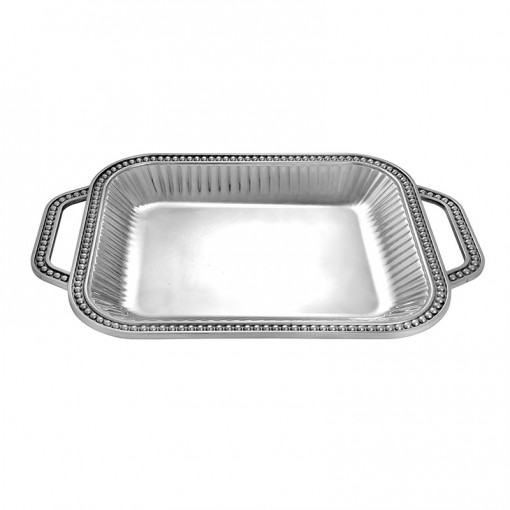 FP484-Square Tray with Handles