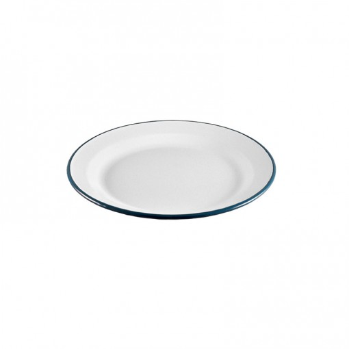 WH99I22-Entre Plate White 22CM