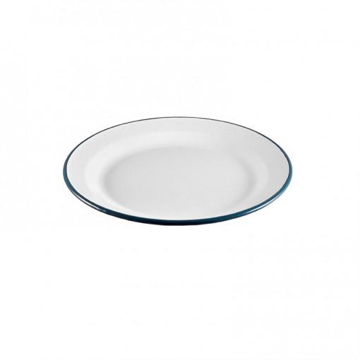WH99J24-Main Plate White 24CM