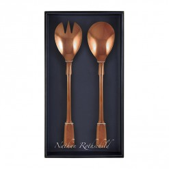 NR204RG-NR Spatten Salad Fork & Spoon Set Rose Gold-02