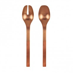 NR206RG-NR Madrid Salad Fork & Spoon Set Rose Gold-01