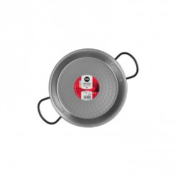 Polished Steel Paella Pan-24CM-0124-01