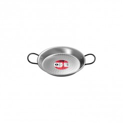 Polished Steel Paella Pan-24CM-0124-02