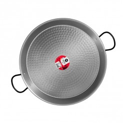 Polished Steel Paella Pan-46CM-0146-01