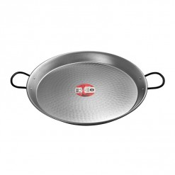 Polished Steel Paella Pan-46CM-0146-02