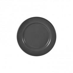 002-JW01GRY_Enamel Plate 20cm Grey