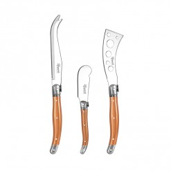 LE05RG-Rose Gold-3 Pce Cheese Knife Set-02