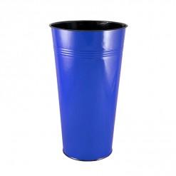 BL17840-Enamel 40CM Dutch Vase-Blue