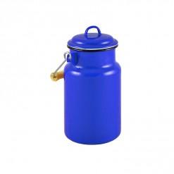 BL77A1-Enamel Milk Vessel 1L-Blue-01
