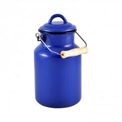BL77A2-Enamel Milk Vessel 2L-Blue-01