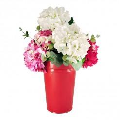 RE17830-Enamel 30CM Dutch Vase-Red-02