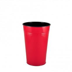 RE17830-Enamel 30CM Dutch Vase-Red