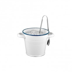 WH132M14-Enamel 1L Bucket with Handles-White-02