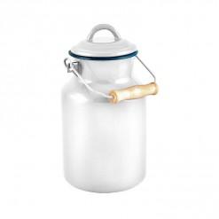 WH77A2-Enamel Milk Vessel 2L-White-01