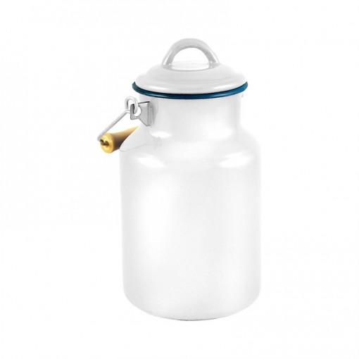 WH77A2-Enamel Milk Vessel 2L-White-02