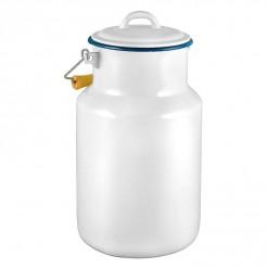 WH77A4-Enamel Milk Vessel 4L-White-01