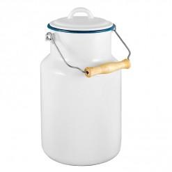 WH77A4-Enamel Milk Vessel 4L-White-02